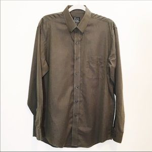 Jos A Bank Travelers Collection Tailored Shirt NEW
